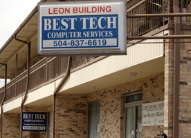Best Tech Computer Services Store Front